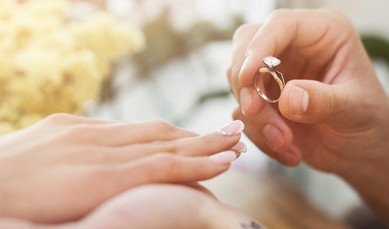 Welche Hand für den Eheringe?