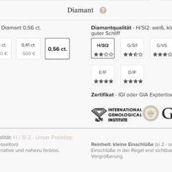 Diamanten 4c
