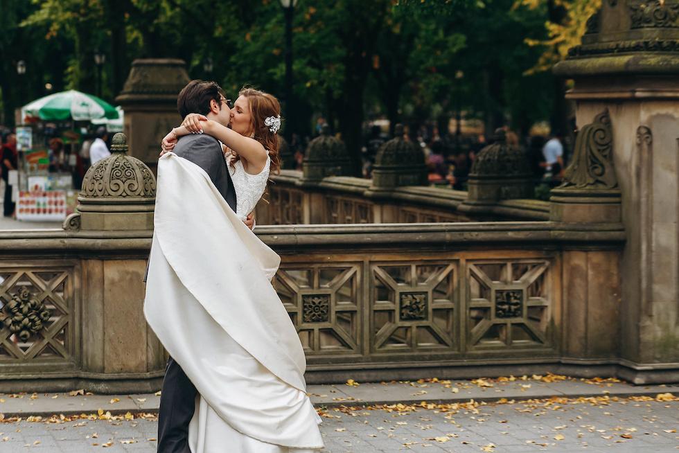 Hochzeit Central Park Eheringe