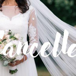 Hochzeitstermin abgesagt wegen Corona