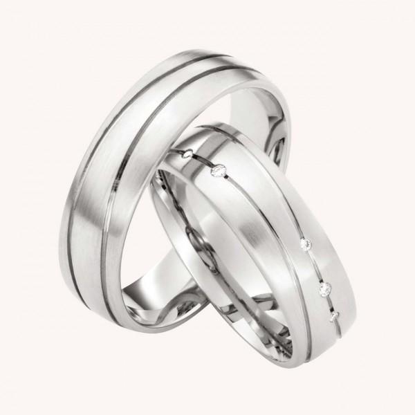 Eheringe Silber No.206