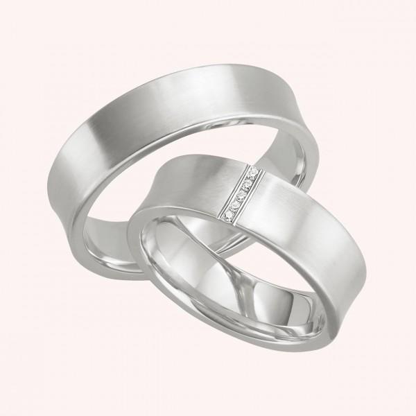 Eheringe Silber No.307