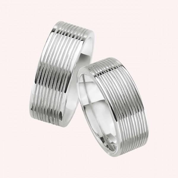 Eheringe Silber No.305