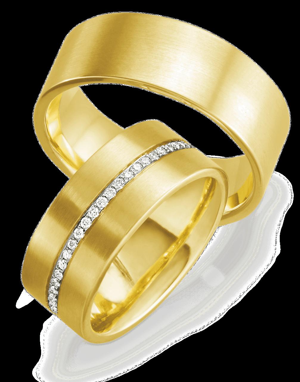 Luxus Trauringe mit 53 Diamanten
